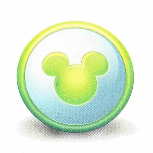 Mickey information icon. This symbol is frequently used to provide additional information to guests visiting Walt Disney World.