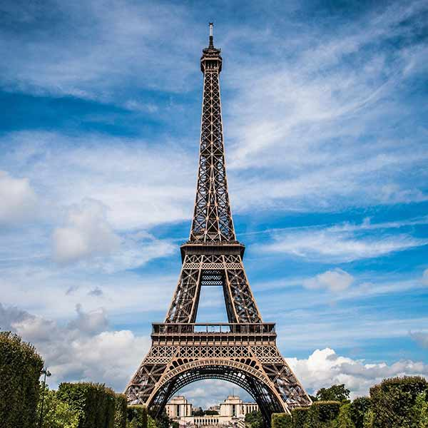 The Eiffel Tower in Paris, one of the many guided tour options with Adventures by Disney.