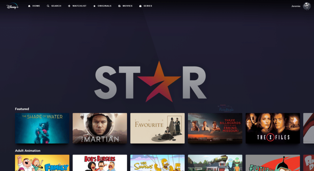 Disney+ in Canada now includes Star
